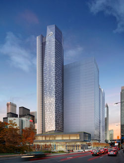 The 566-room Delta Toronto will open in Fall 2014.