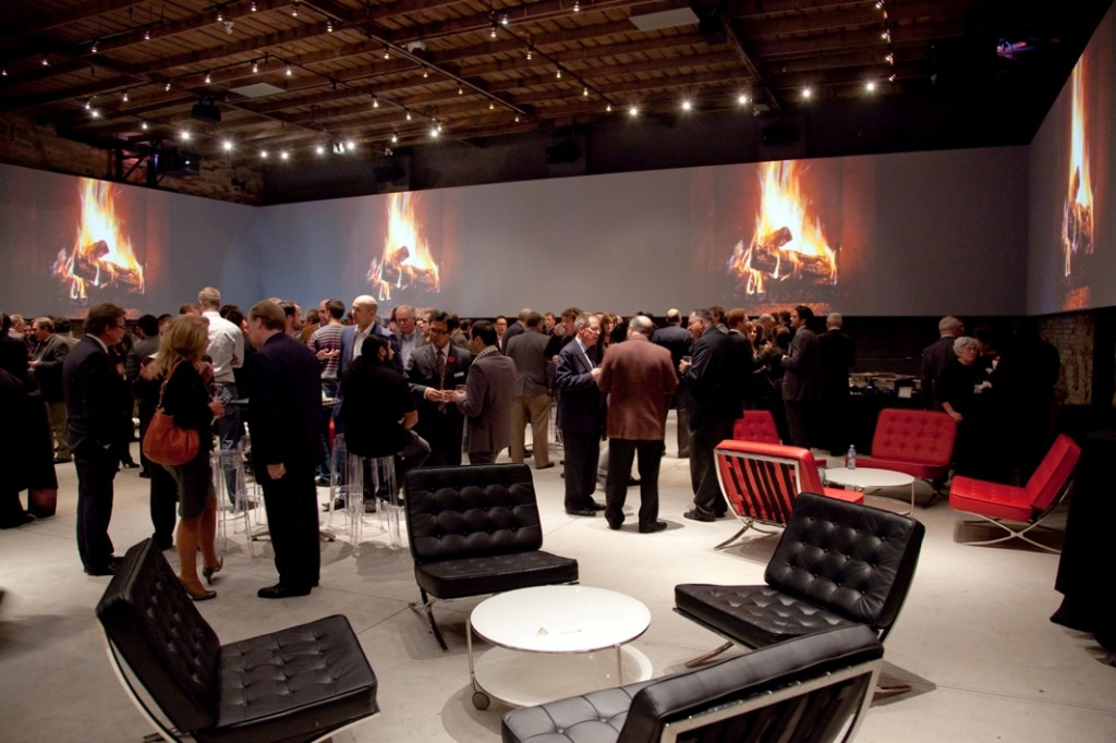 A networking session at the Tannery Event Centre.