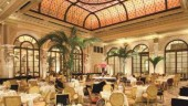 The Palm Court serves different versions of afternoon tea.