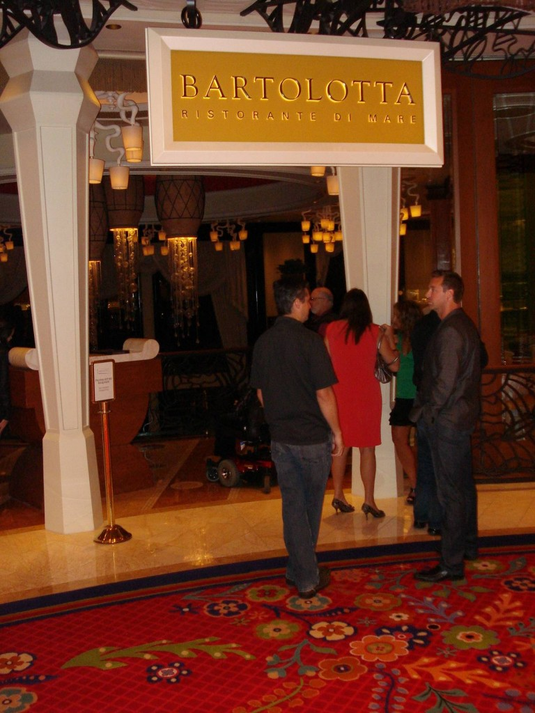 Bartolotta Restaurant, in the Wynn Hotel.