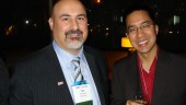 Joe Orecchio (left) and Geoff Mak, CMP.
