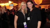 Nikki Sayers, Ontario Bar Association; Kayley O'Brien, Scotiabank Convention Centre.