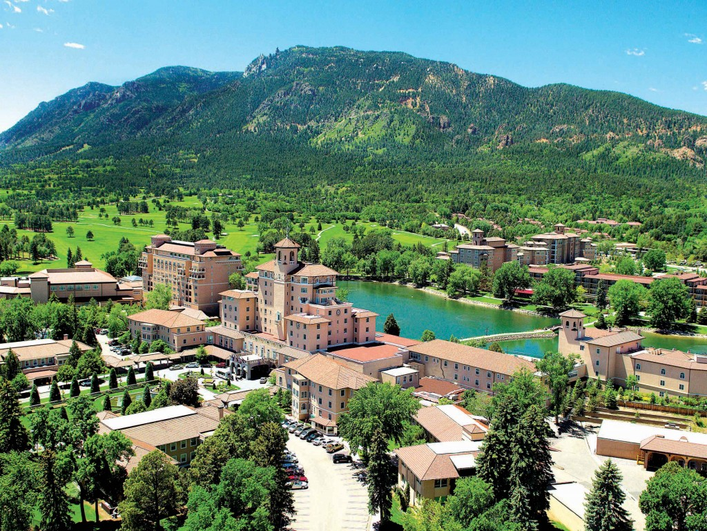 The Broadmoor's reno will upgrade f&b outlets.