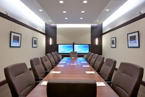 Meeting room at Allstream Centre.