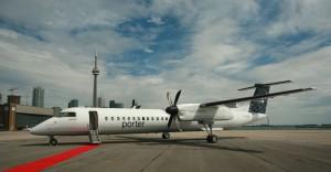 Porter offers charter flights to assorted destinations.