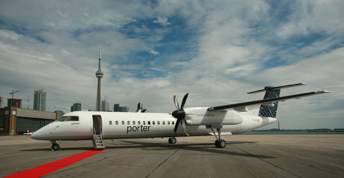 Porter ranked most reputable canadian airline meetings for Porter canada