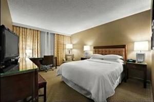 Renovated guestroom at Sheraton Cavalier Saskatoon