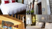 Le Germain Boutique Hotels (Clockwise from top left: Toronto, Dominion-Quebec City, Calgary and Montreal)