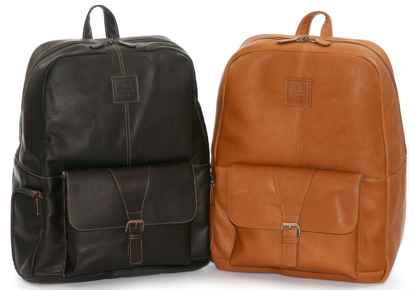 Jack Hemingway Leather Backpack - Meetings Canada - Meetings Canada