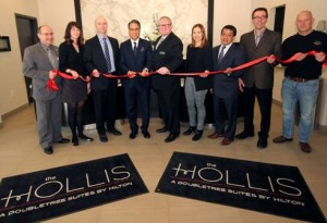 The Hollis Halifax - a DoubleTree Suites by Hilton Ribbon Cutting, January 2015