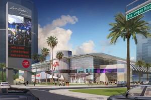 Las Vegas Global Business District (artist's rendering). Photo: LVCVA