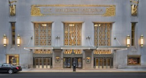 Waldorf Astoria New York, Park Avenue Entrance