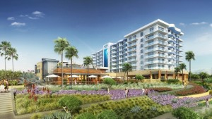 Artist's Rendering of Pasea Hotel & Spa, Huntington Beach, CA - Associated Luxury Hotels International (ALHI)
