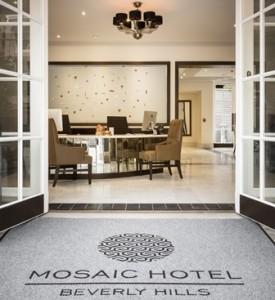 Lobby, Mosaic Hotel, Beverly Hills