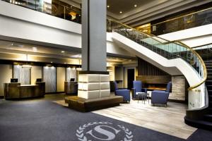 Lobby, Sheraton Hamilton Hotel