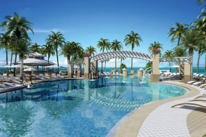 Pool, Playa Largo Resort & Spa (artist's rendering)