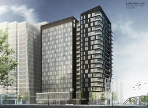 ALT Hotel Saskatoon (preliminary rendering)
