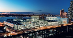 Jacob K. Javits Convention Center, NYC. Artist's rendering of expansion.