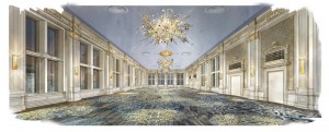 Crystal Ballroom, Omni King Edward Hotel (artist's rendition)