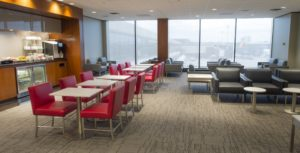 Air Canada's Newest Maple Leaf Lounge Opens at Newark Airport (PRNewsFoto/Air Canada)