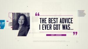 Best Advice… Janet Jakobsen