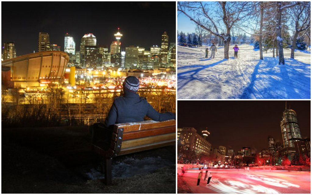 Calgary Winter Collage: Meetings + Incentive Travel