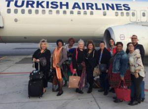 Arriving in Turkey (FAM Nov. 2016)