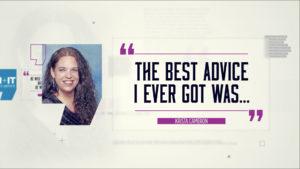 Best Advice… Krista Cameron