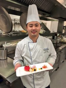 Executive Pastry Chef Jason Wang, Shaw Conference Centre