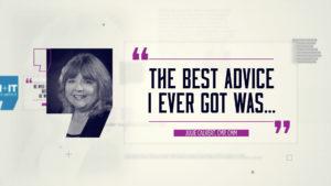 Best Advice… Julie Calvert, CMP, CMM