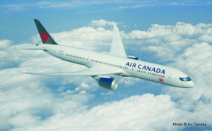 Air Canada Adds Six New Routes to Global Network