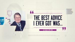 Best Advice… Les Selby, CMP CMM