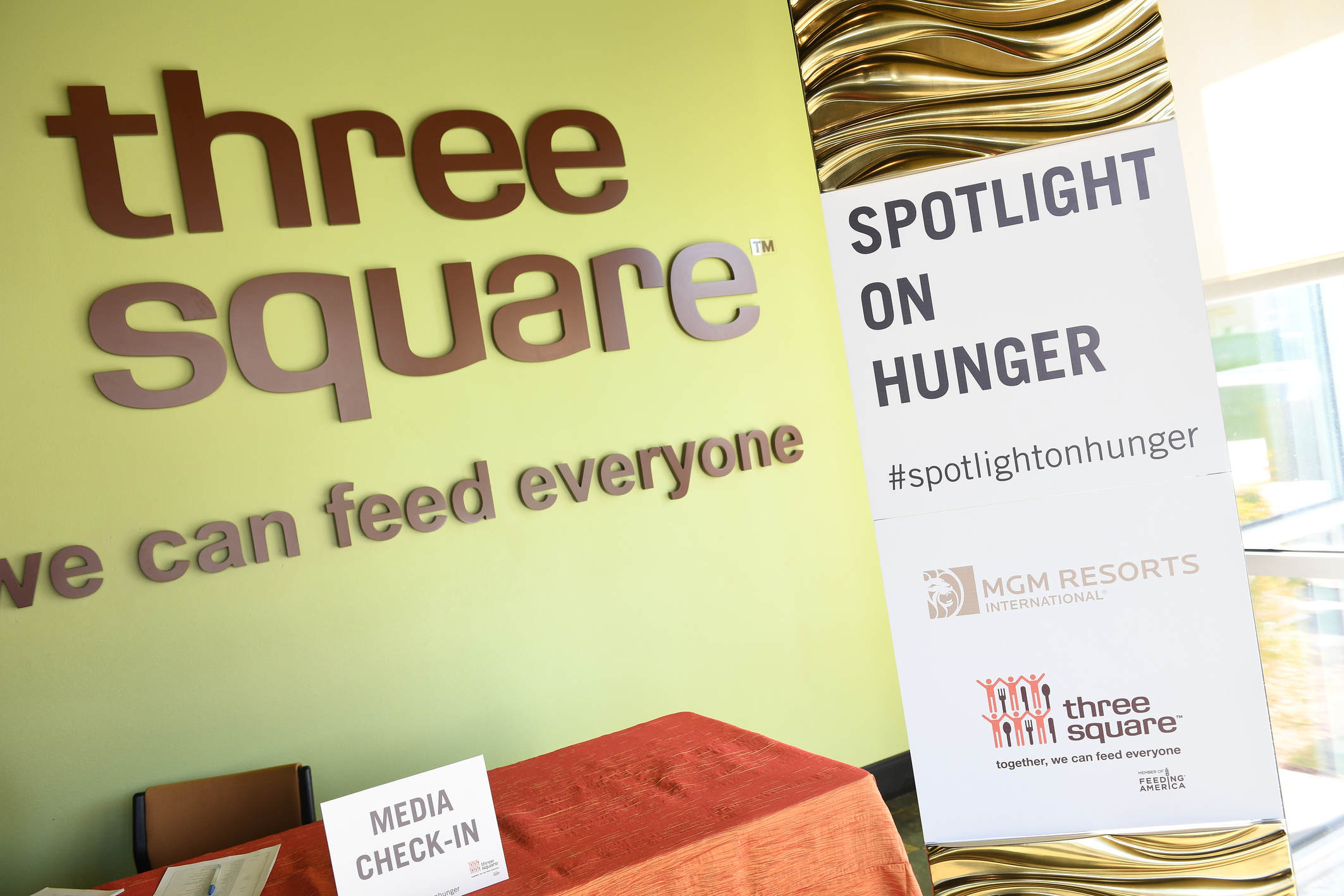 MGM Resorts Partners with Three Square Food Bank to Fight Hunger