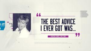 Best Advice… Marsha Jones, CMP, CMM