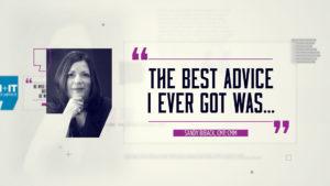 Best Advice… Sandy Biback, CMP Emeritus, CMM