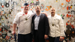 NAV Centre Chef Competing in IACC's Global Copper Skillet Competition