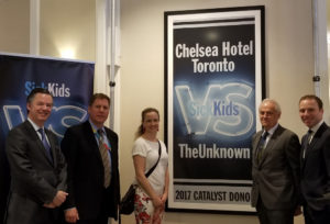 Chelsea Hotel, Toronto Recognized as SickKids Catalyst Donor